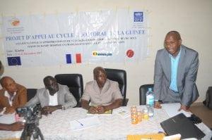 Formation à Kindia des acteurs de la société civile sur le contenu du code électoral