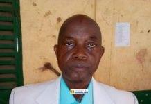 Aboubacar Soumah du Syndicat libre des enseignants et chercheurs de Guinée (SLECG)