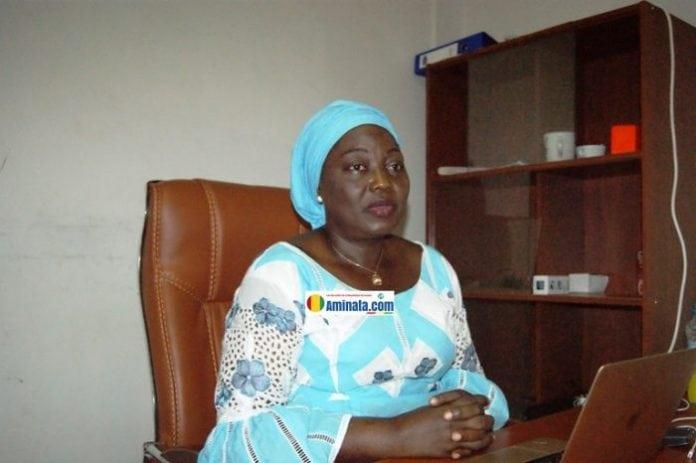 Aminata Touré, candidate indépendante à Kaloum, fille de Sékou Touré