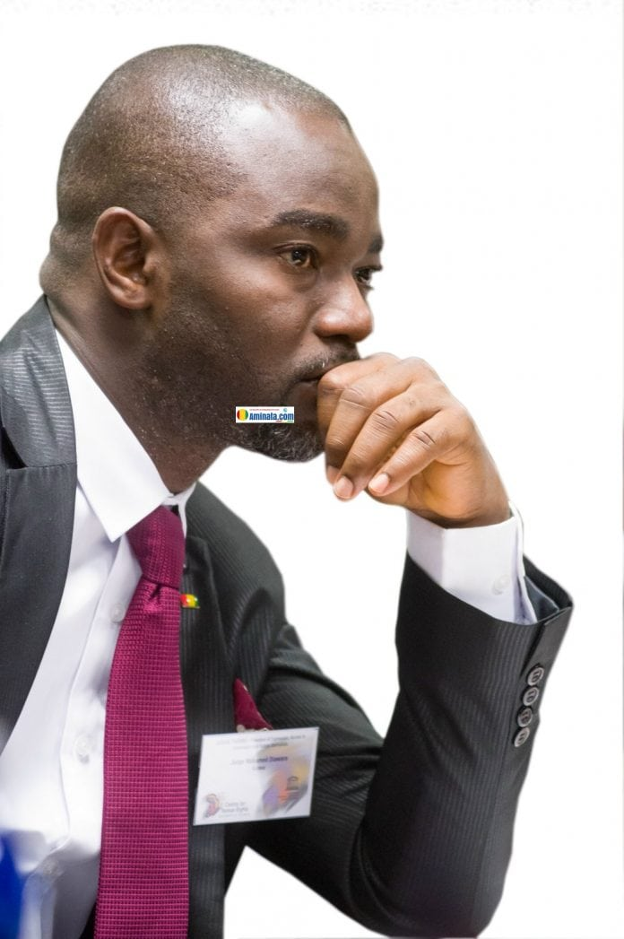 Mohamed Diawara, juge d'instruction à la justice de paix de Kérouané