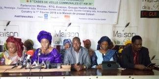 Hadja Makalé Traoré, présidente de la COFFIG