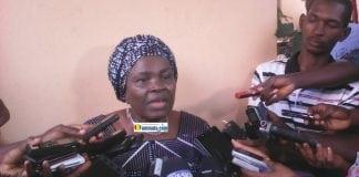Hadja Saran Daraba, ancienne secrétaire exécutive de l'Union du fleuve Mano