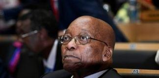 Le président sud-africain Jacob Zuma lors d'une réunion de l'Union africaine à Addis Abeba le 28 janvier 2018. | AFP/Archives | SIMON MAINA