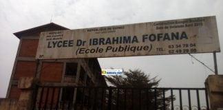 Lycée Dr. Ibrahima Fofana abrite plusieurs bureaux de vote à Matoto