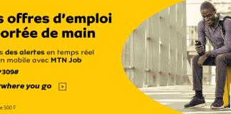 Recevez les offres d'emploi en cours avec MTN Job alerte