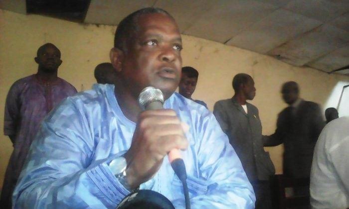 Amadou Diallo, secrétaire général de la Confédération nationale des travailleurs de Guinée (CNTG)
