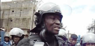 Général Ansoumane Bafoé Camara, directeur national des Unités d'intervention de Police