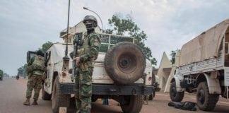 Des militaires français à Bangui