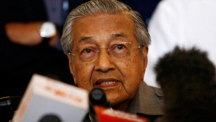 Mahathir Mohamad, futur premier ministre de Malaisie
