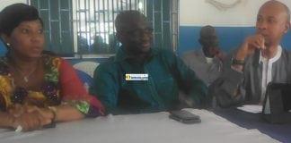 Mohamed Tall, ministre de l'élevage lors de l'AG de l'UFR