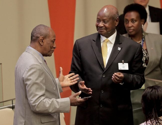 Yoweri Museveni attendu à Conakry pour une visite d'Etat