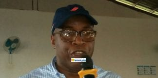 Fodé Oussou Fofana, vice-président de l'Union des forces démocratiques de Guinée (UFDG)