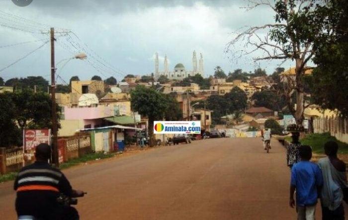Le centre ville de Labé