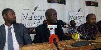 Mamadou Baadiko, président de l'Union des forces démocratiques (UFD)