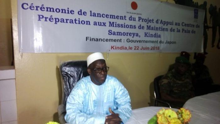 Mohamed Diané, ministre de la défense nationale