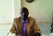 Lanciné Sangaré, secrétaire générale en charge des collectivités décentralisées de Labé (crédit photo Sally Billaly)