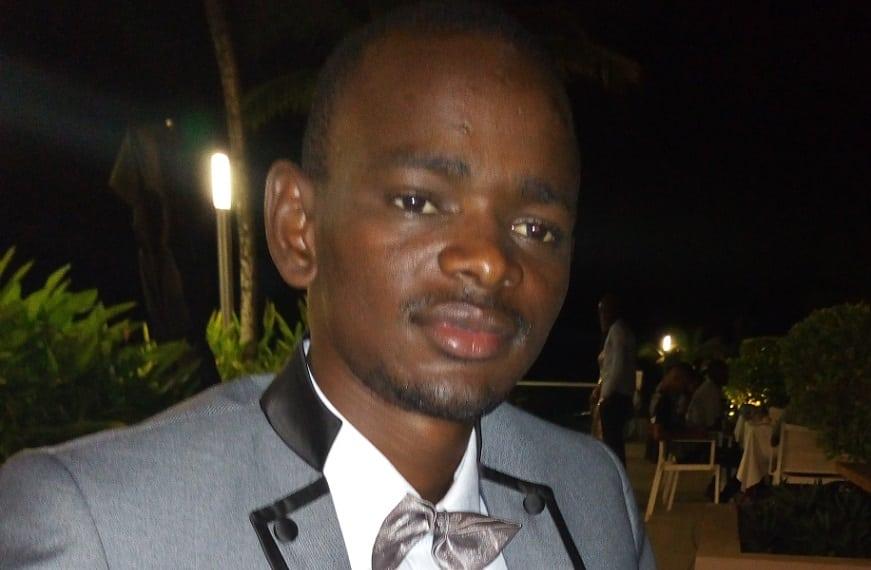Ibrahima Kalil Diallo, président du Collectif des journalistes pour le Soutien Aux Actions Présidentielles (CJSAP)