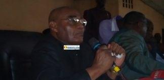 Louis M'Bemba Soumah, secrétaire générale de l'Union du syndicat des travailleurs de Guinée (USTG)