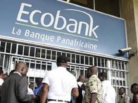 Une agence d'Ecobank