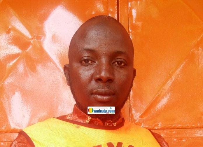 Adama Magassouba, président de Mandén taxi moto Siguiri