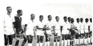 La première équipe de la Guinée indépendante