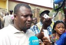 Cheick Chérif Touré, secrétaire général du syndicat du Port autonome de Conakry