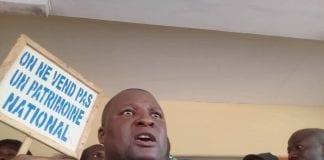 Cheick Touré, secrétaire général du syndicat du port de Conakry