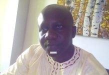 Etienne Soropogui, Directeur des opérations de la commission électorale nationale indépendante (CENI)