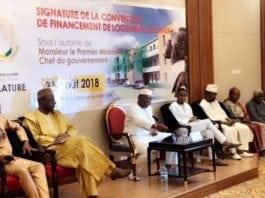 Signature de convention de financement des logements sociaux