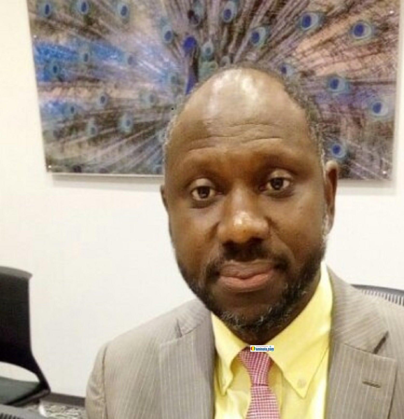 Abdoulaye Bah, maire de Kindia