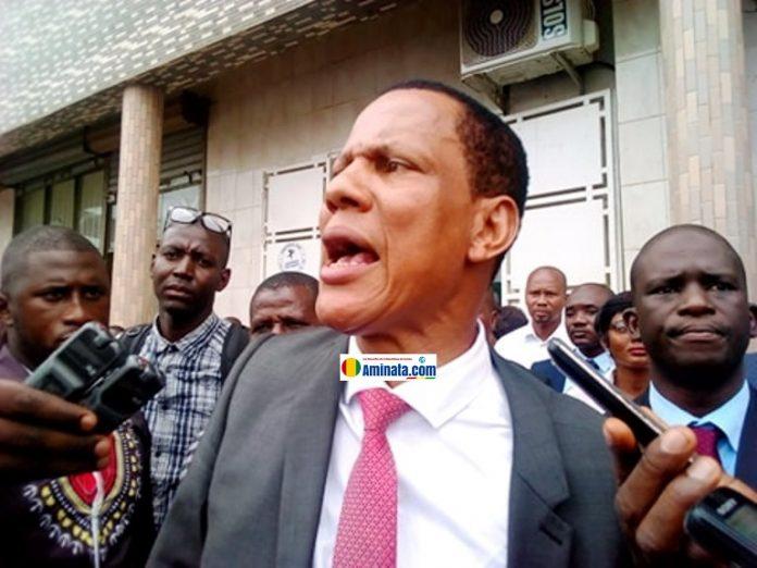 Abdoulaye Sow, secrétaire général de la FESABAG et de l'USTG