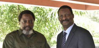 Kabila & Ministre de Guinée Cheik Talibi Sylla