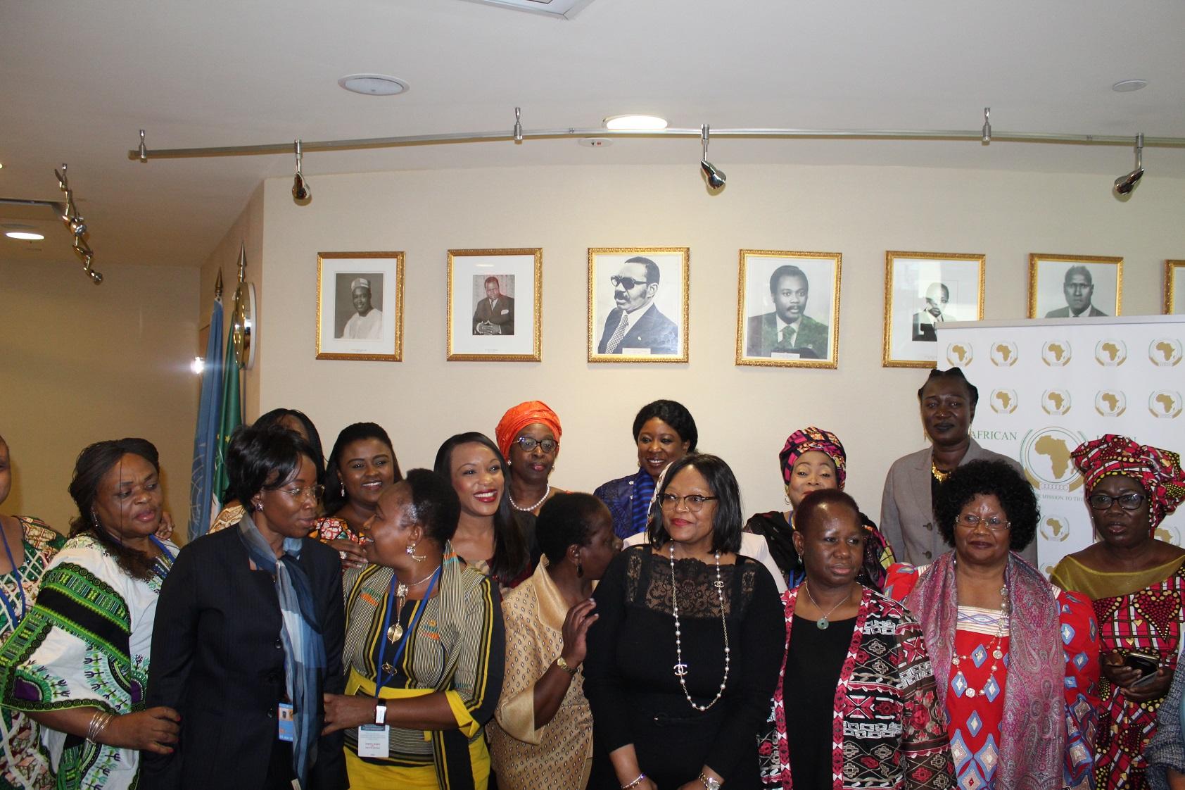 Les membres du Réseau des femmes africaines dirigeantes (AWLN)