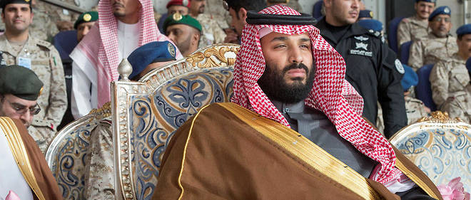 Mohamed Ben Salman dit MBS prince héritier de l'Arabie Saoudite