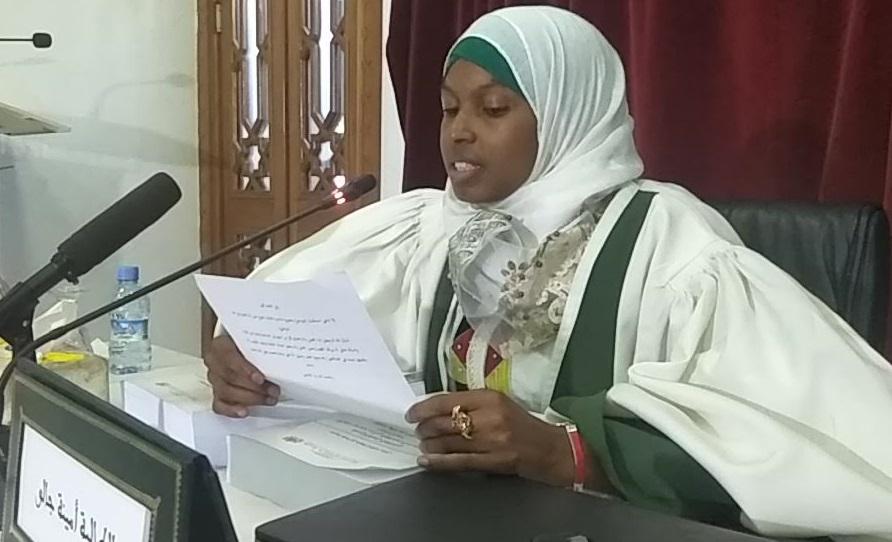 Aminata Diallo, première fois titulaire d'un doctorat en études islamiques