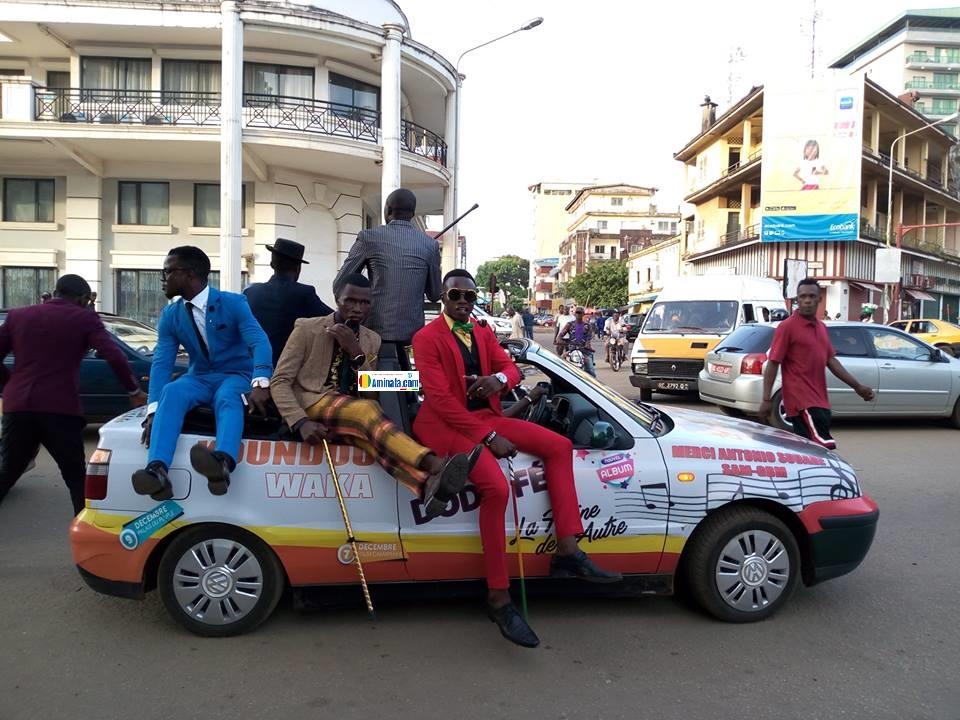 Des sapeurs à Conakry