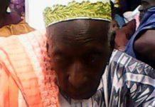 Le grand père d'Ibrahima Kandja Doukouré décédé à l'âge entre 110 et 115 ans
