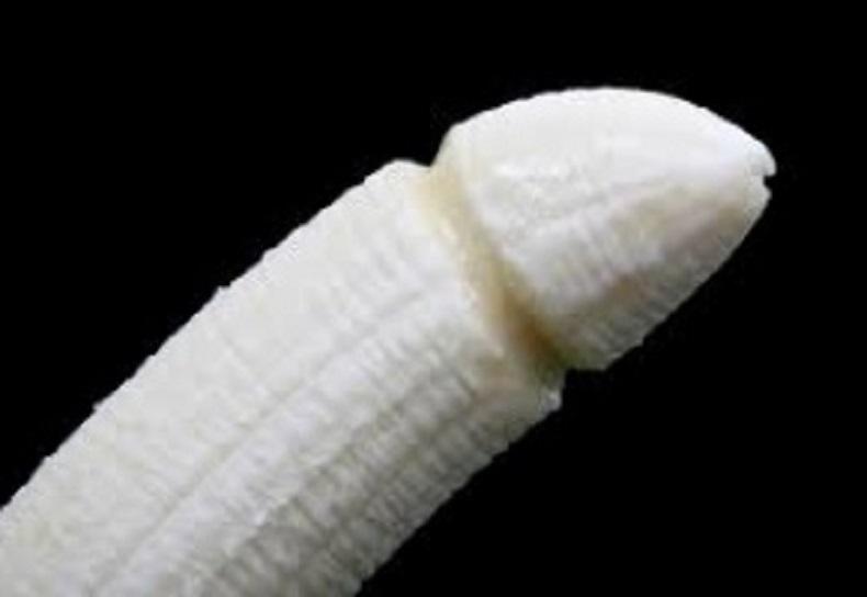 Une banane en forme de pénis