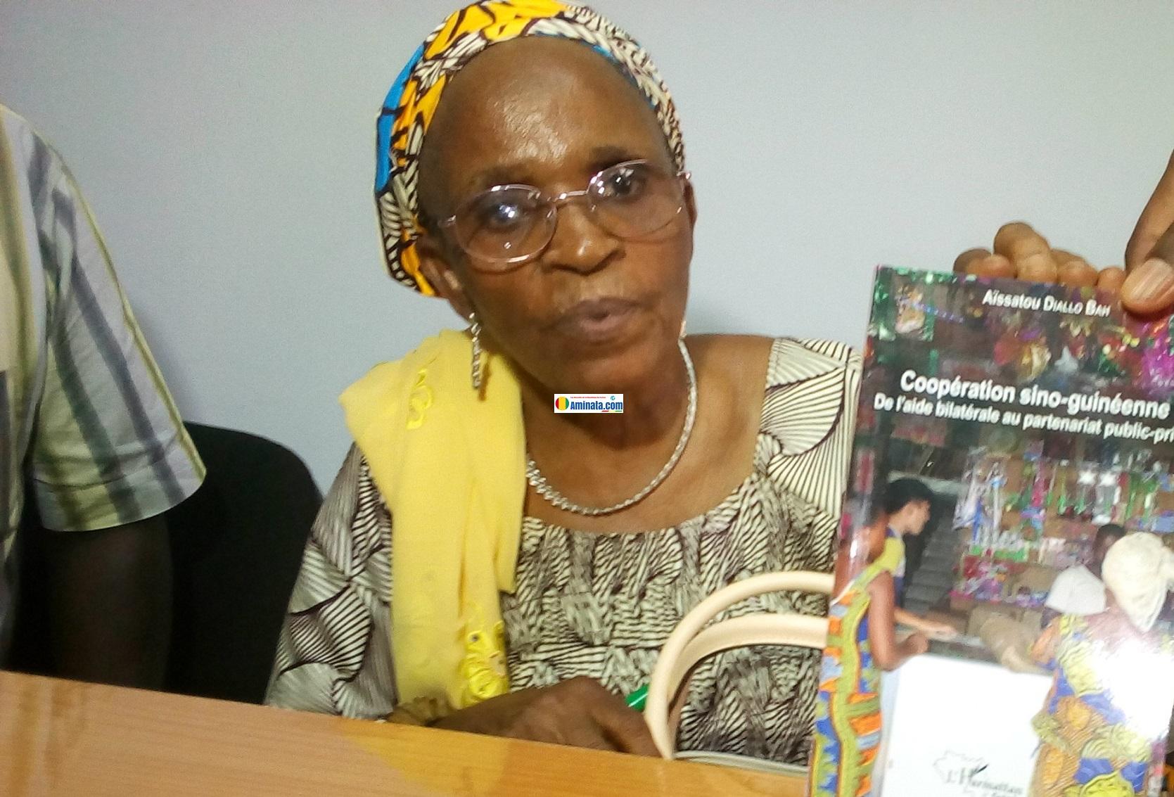 Aïssatou Diallo Bah auteure de Coopération sino-guinéenne