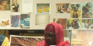 Hadja Koumanthio Zenab Diallo inspectrice régionale de la culture