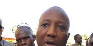 Ibrahima Sakho, président du Parti du changement, unité de la Guinée (CPUG)