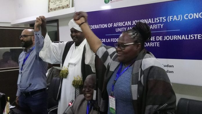 Sadiq Ibrahim, nouveau président de la Fédération africaine des journalistes (FAJ)