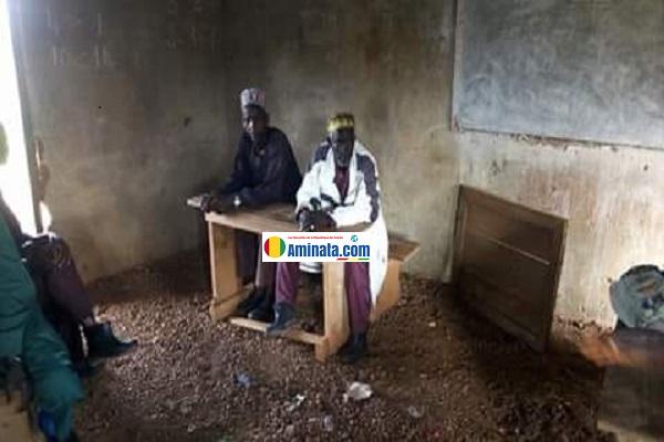 Une salle de classe de Bowé à Telemelé