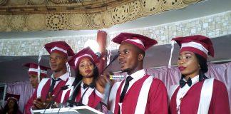 Les premiers diplômés de l'Institut de Formation en développement (IFORD)