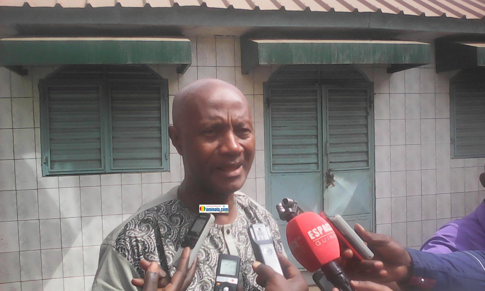 Mandjou Chérif, Directeur de cabinet du gouvernorat de Conakry