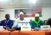 Signature de la Convergence de l'Opposition Démocratique (COD)