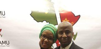Abdoul Diallo et son épouse