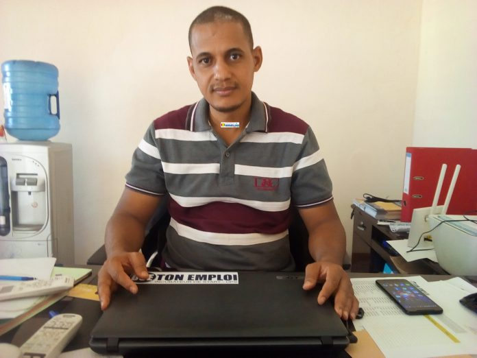 Danda Diallo, Directeur général de l'incurbateur Ose ton emploi