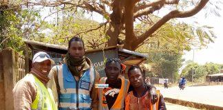 Des responsables syndicaux de taxi-moto à Labé