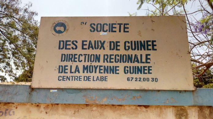 La direction régionale de la société des eaux de Guinée (SEG) à Labé
